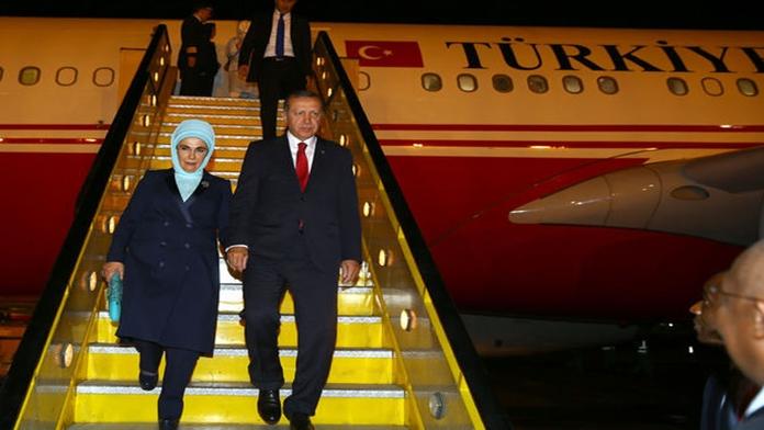 Cumhurbaşkanı Erdoğan Uganda'da Törenle Karşılandı