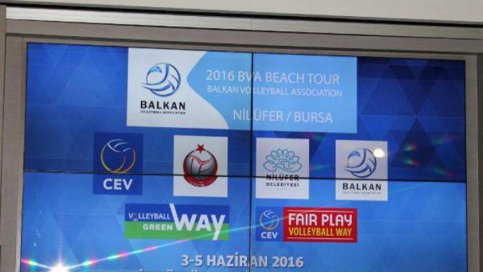 Balkan Plaj Voleybolu heyecanı Bursa'da başlıyor