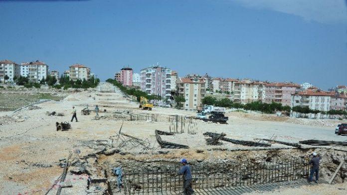 Karaman'da Köprü Çalışması