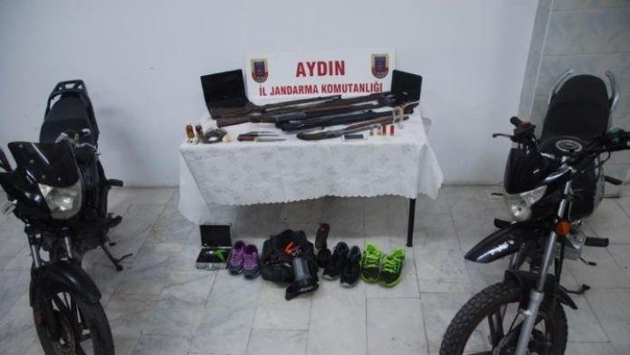 Söke'de Jandarma Ve Emniyetten Ortak Operasyon: 3 Gözaltı