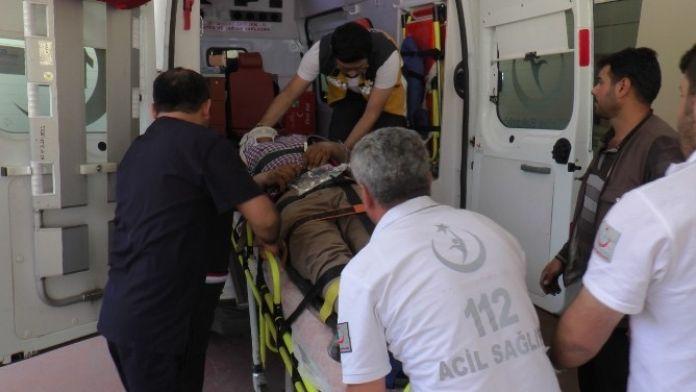 Yüksekten Düşen İşçi Ağır Yaralandı