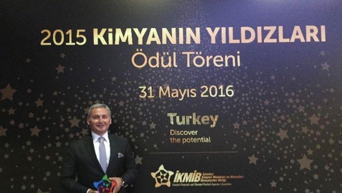 Standard Profil'e İhracat Yıldızı Ödülü