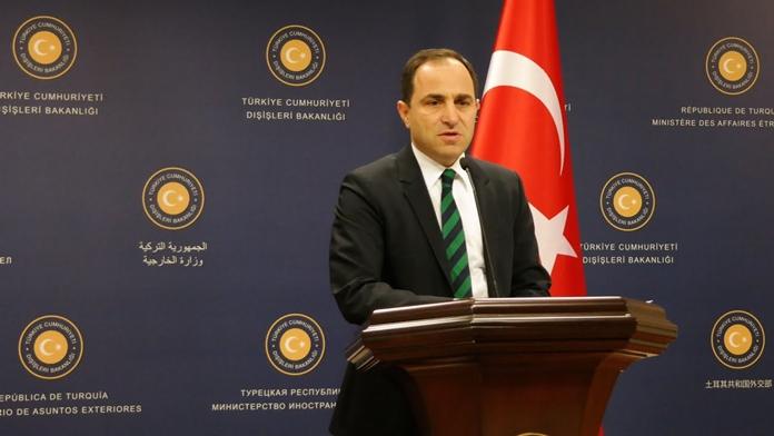 DIŞİŞLERİ Bakanlığı Sözcüsü Tanju Bilgiç 'Hac' Açıklaması