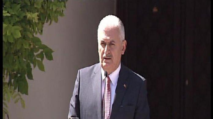 Başbakan Yıldırım: (Mardin'de ele geçirilen antitank roketi) 'Müttefikliğe uygun değil'