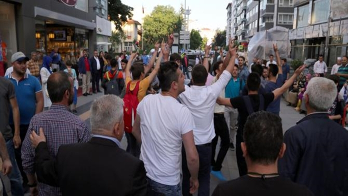 Samsun Gezi Parkı Eyleminde Gergin Anlar Yaşandı