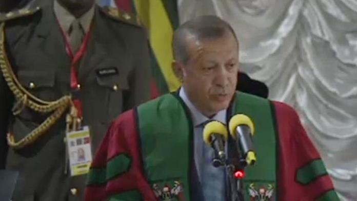 Cumhurbaşkanı Erdoğan: Sert Konuştu
