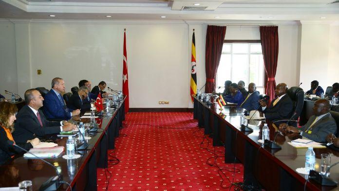 Türkiye ile Uganda arasında 6 anlaşma imzalandı