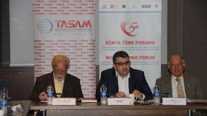 Dünya Türk Forumu Akil Kişiler Toplantısıyla Başladı,