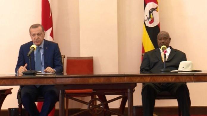 Uganda'dan BM'ye çattı
