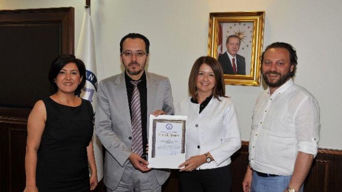 ADÜ Rektörü Bircan'dan Garanti'ye Teşekkür