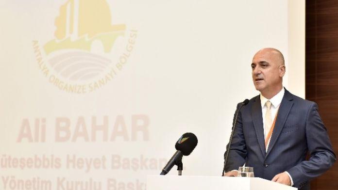 OSB Başkanı Bahar, Güven Tazeledi