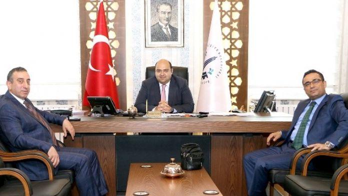 Bölge Adliye Mahkemesi Başkanı Çetin'den Başkan Orhan'a Ziyaret