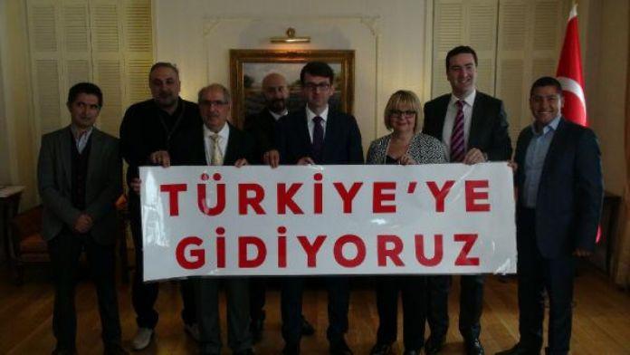 İngiltere'de 'Türkiye'ye Gidiyoruz' kampanyası