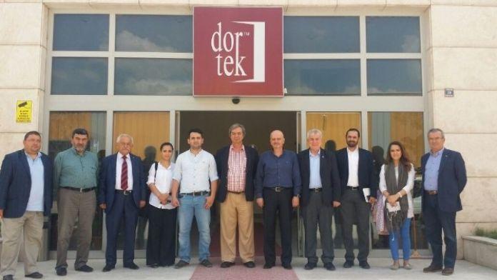 Kastamonu Cuf Projesi Teknik Yardım Ekibinden Dortek'e Ziyaret