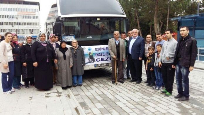 Taşköprü Belediyesi'nden Engelli Vatandaşlara Yönelik Kızılcahamam Gezisi