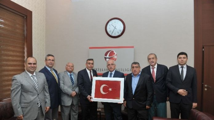 Eskişehir Siirt Vakfı'ndan Vali Tuna'ya Ziyaret