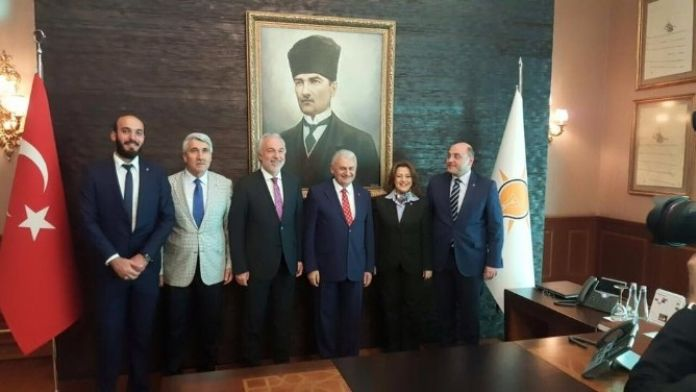 Kütahya Heyeti, Başbakan Binali Yıldırım'la Görüştü