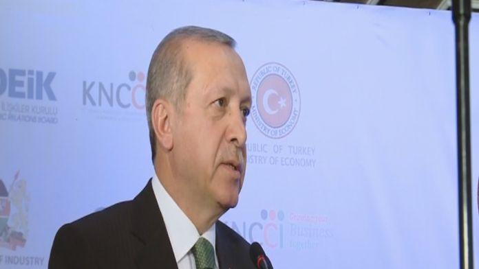 Erdoğan: '1 milyar dolar hedefini yakalamalıyız'