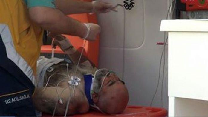 Ayağını Beton Mikserine Kaptıran İşçi Yaralandı