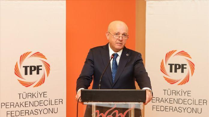 Türkiye Perakendeciler Federasyonu yeniden Altunbilek'e eman