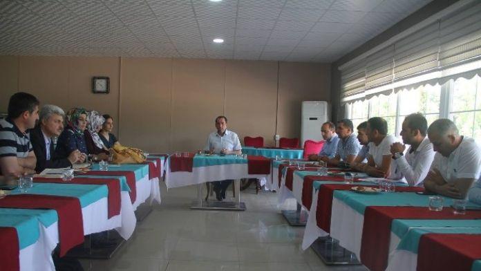 Diyarbakır'da Yaz Spor Okulları Toplantısı Yapıldı