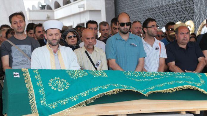 Hükümlü Alp Buğdaycı'nın cenazesi toprağa verildi