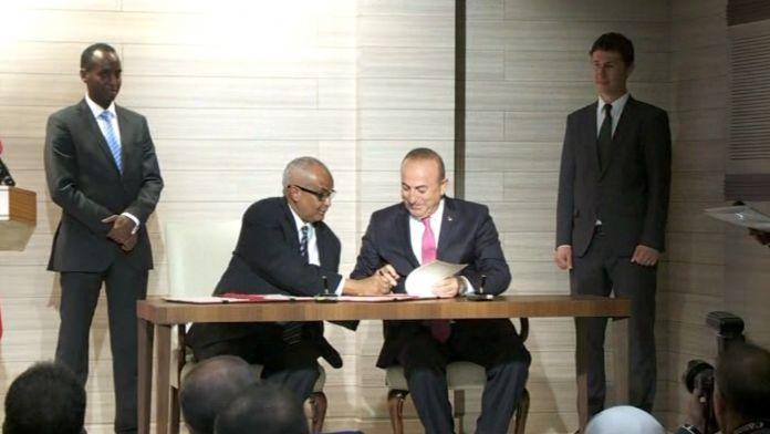 Türkiye ile Somali arasında 9 anlaşma imzalandı