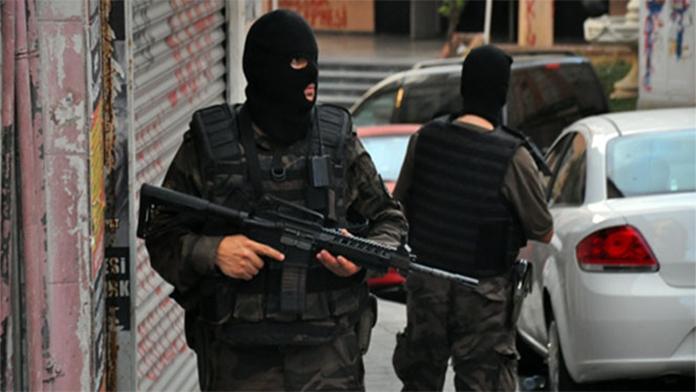 İstanbul'da Geniş Çaplı Terör Operasyonu Yapıldı