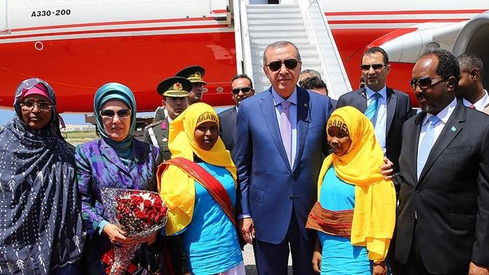 Erdoğan'ın Ziyareti Afrika Basınında Yer Aldı