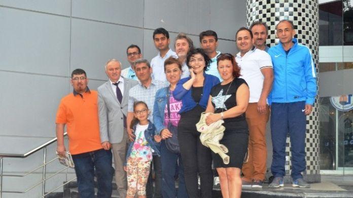 Aydın'dan 20 Kişilik Gazeteci Grubu Malatya'da