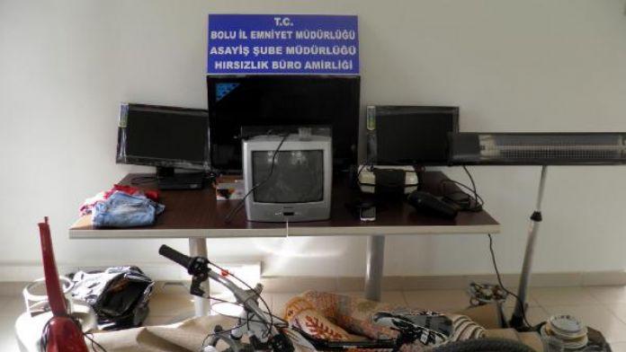 Bolu'da 9 hırsızlığın şüphelisi yakalandı