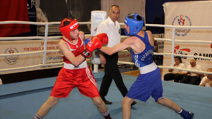 Üst Minikler Ferdi Boks Türkiye Şampiyonası sona erdi
