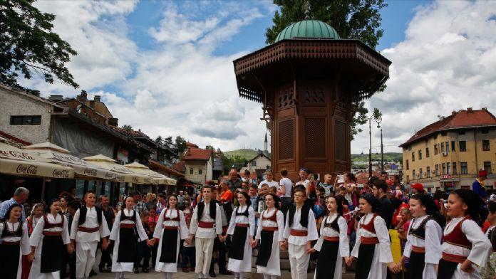 Saraybosna'da 'Çocuk Festivali' başladı