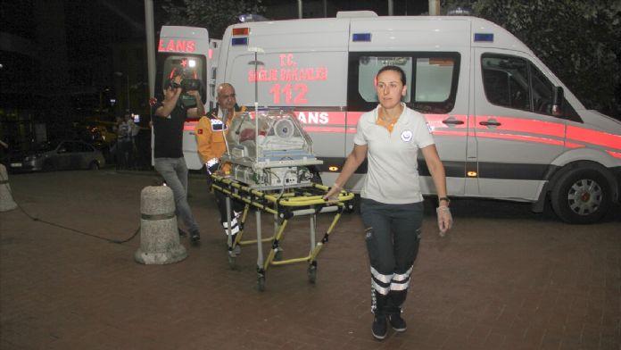 Kalp hastası bebek, tedavisi için Türkiye'ye getirildi