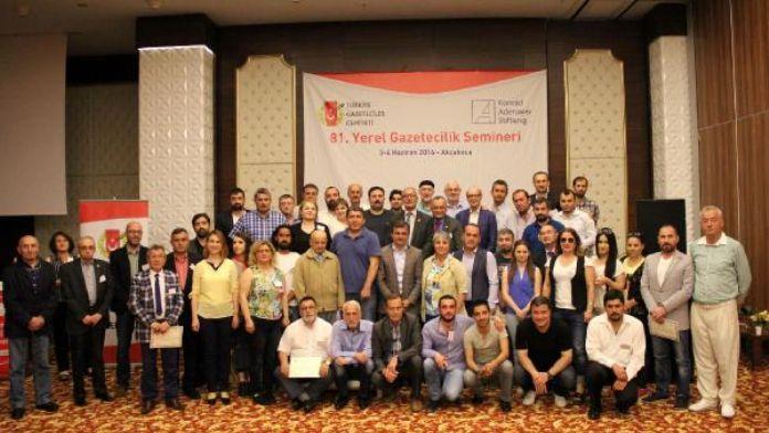 TGC Başkanı Olcayto: Gazetecilik özgür meslektir