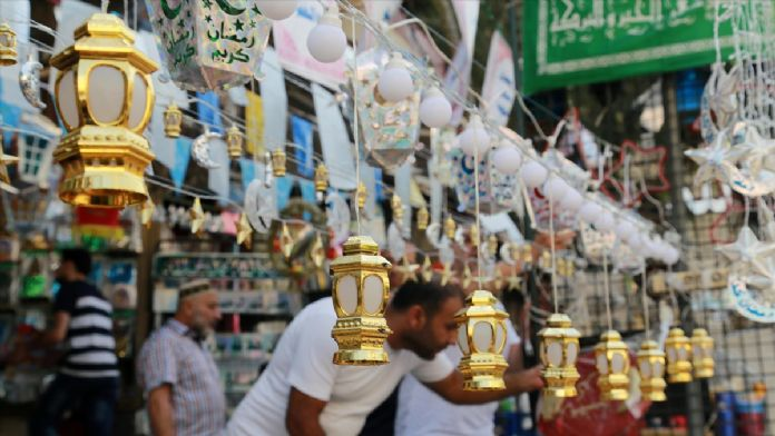 Lübnanlılar ramazan hazırlığında