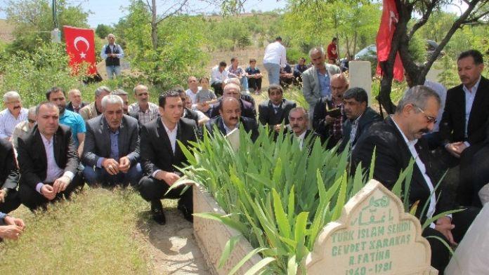 Elazığ'da Cevdet Karakaş Kabri Başında Anıldı