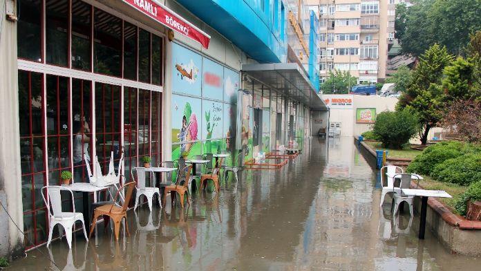 Beşiktaş'ı su bastı