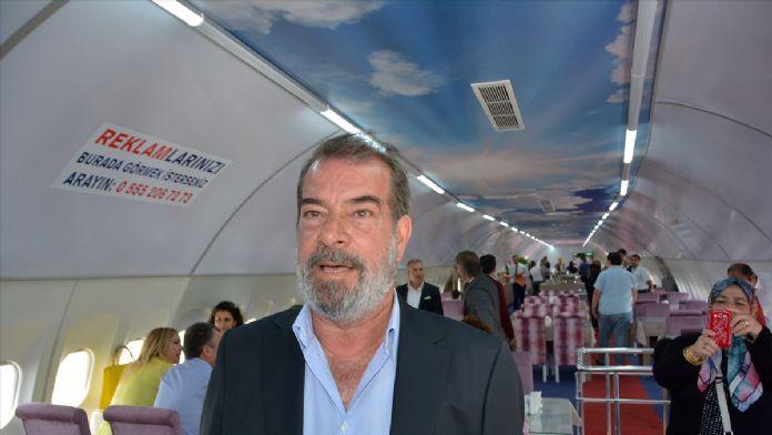 Balıkesir'de 'restoran uçak' törenle hizmete açıldı