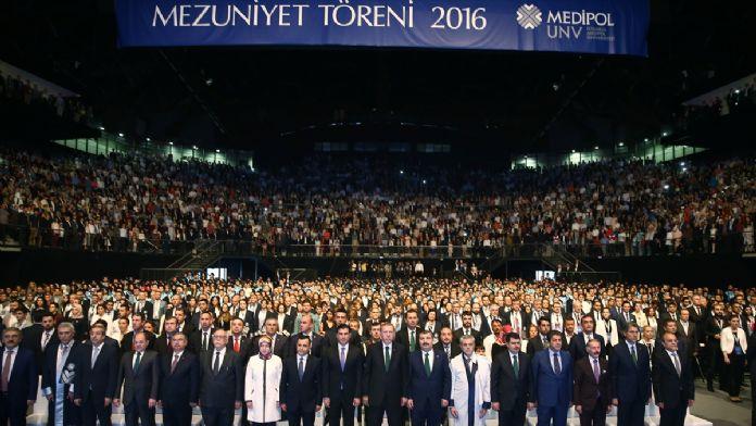 Medipol Üniversitesi Mezuniyet Töreni