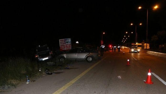 Başkent'te Trafik Kazası: 5 Yaralı