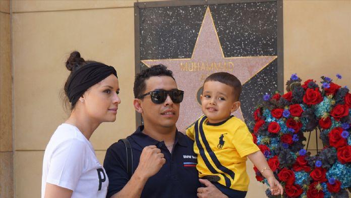 Muhammed Ali, Hollywood Şöhretler Kaldırımı'nda anıldı