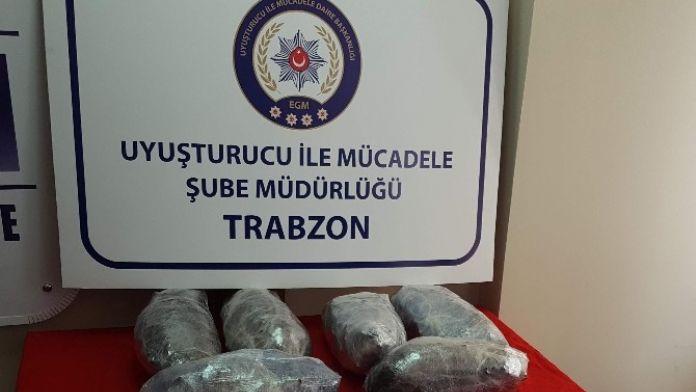 Trabzon'da Son 4 Yılın Uyuşturucu Bilançosu