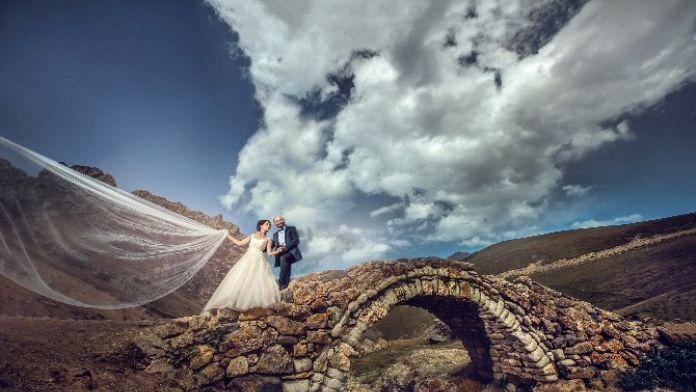 Düğün Fotoğraflarında Yazın Gelişiyle Birlikte Yaylalara Rağbet Arttı