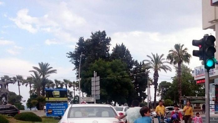 Antalya'da Patenli Çocukların Tehlikeli Yolculuğu