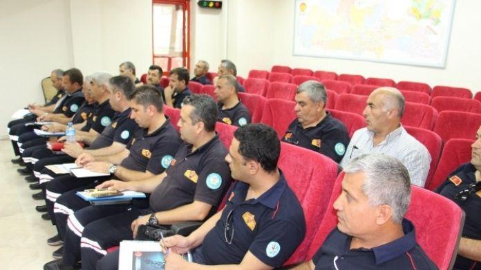 Manisa İtfaiyesinden Güvenli Gelecek Toplantısı