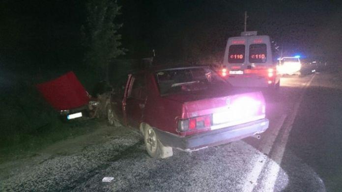 Kastamonu'da Otomobiller Çarpıştı: 9 Yaralı