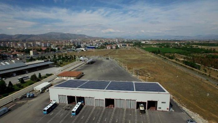 Büyükşehir, Güneş Enerji Santralinden Elektrik Üretimine Başladı