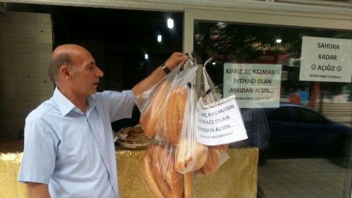 Siirt'te İhtiyaç Sahibi Ailelere Ramazan Ayı Boyunca Ücretsiz Ekmek