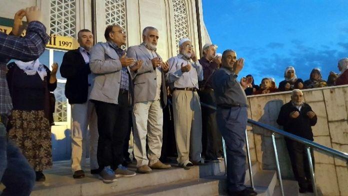 Develi'de Vatandaşlar Kutsal Topraklara Uğurlandı